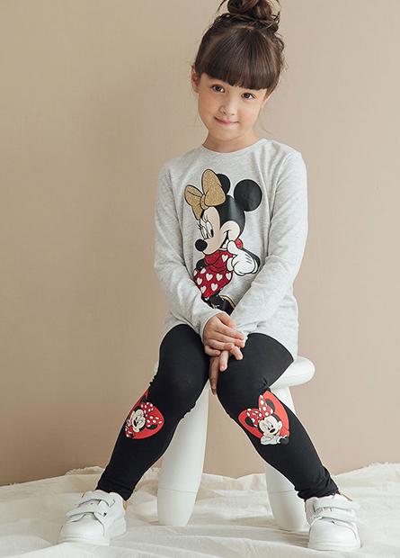 女童迪士尼內搭長褲