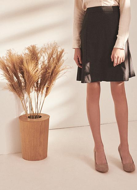 A字商務短裙