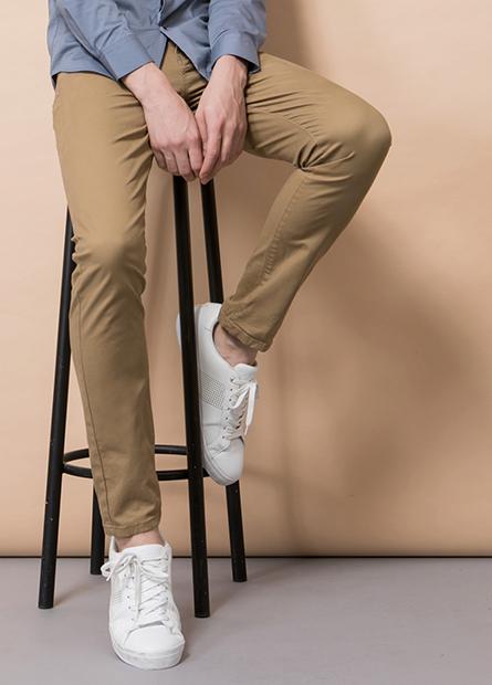 Skinny Fit合身五口袋長褲