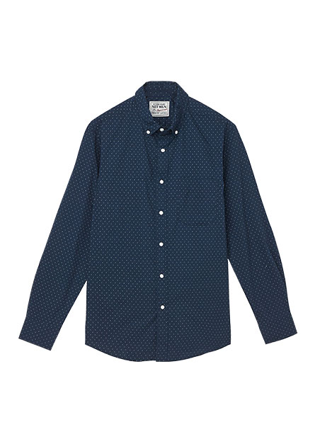 Regular Fit休閒長袖襯衫