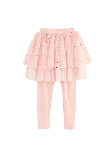 女童網紗襯裙內搭褲