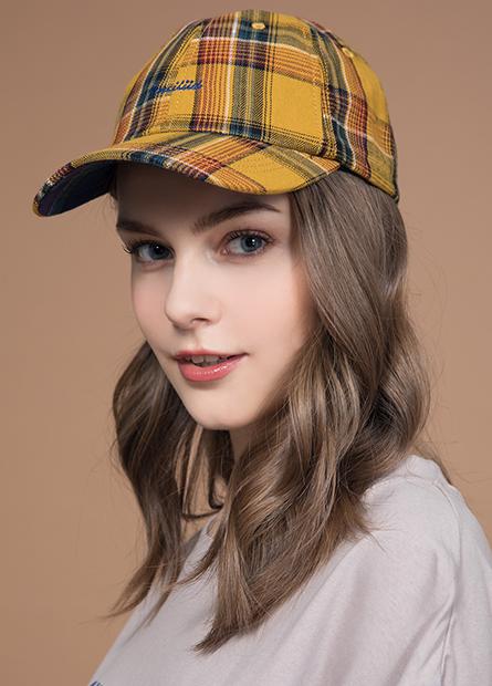 毛料繡字棒球帽