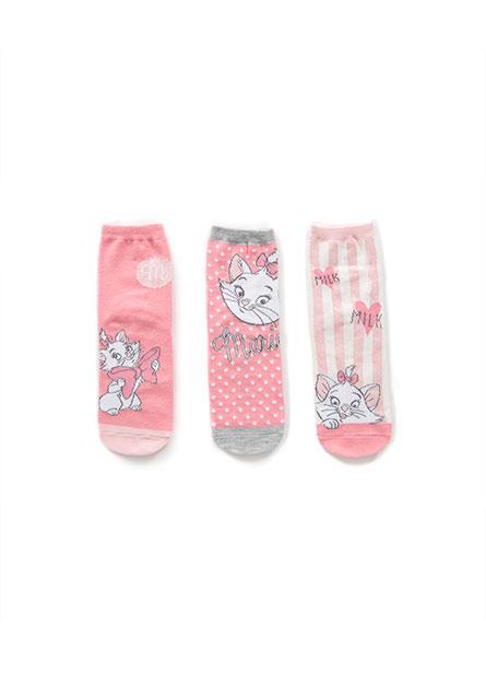 女童瑪莉貓短襪(三入)