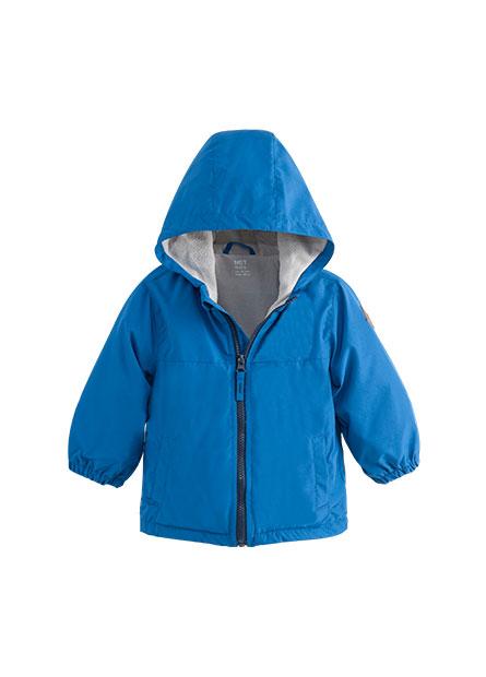 男嬰連帽縮口雨衣夾克