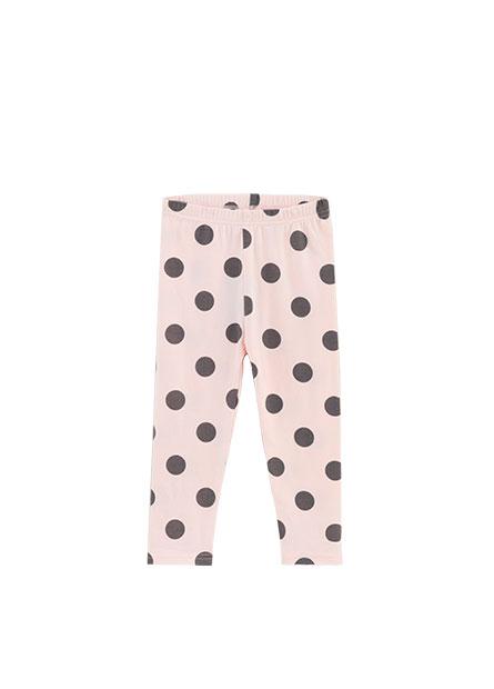 女嬰滿版印花內搭長褲