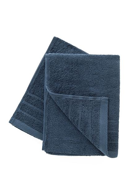 純棉素色毛巾(二入)
