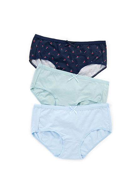 基本低腰內褲(三入)