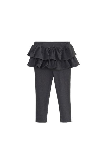 女嬰假兩件褲裙