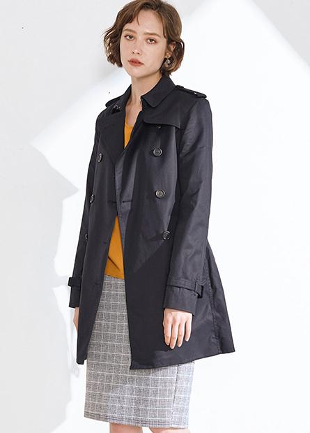 雙排釦風衣外套