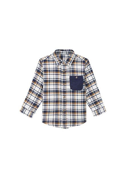男嬰法蘭絨襯衫