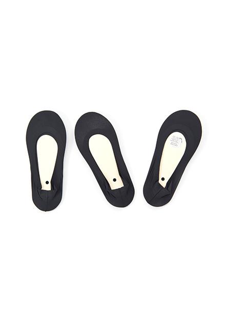 緩衝墊隱形襪(三入)