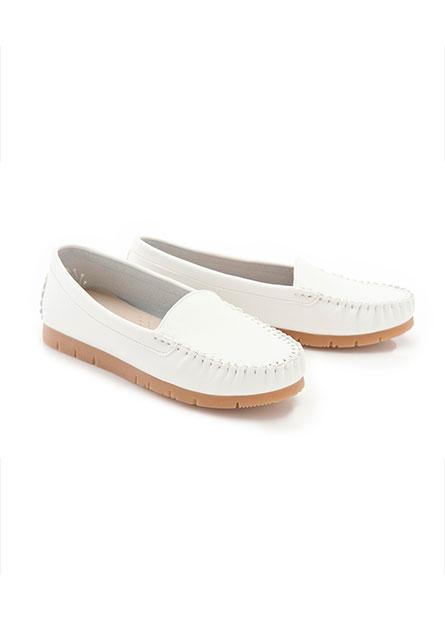 舒適休閒厚底豆豆鞋
