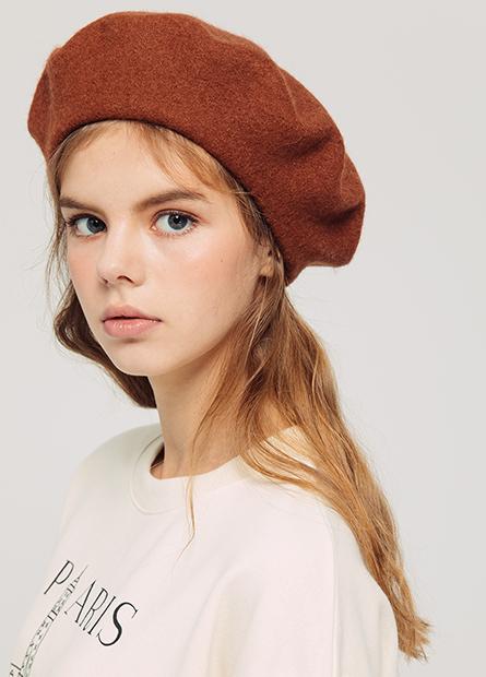 羊毛畫家蓓蕾帽