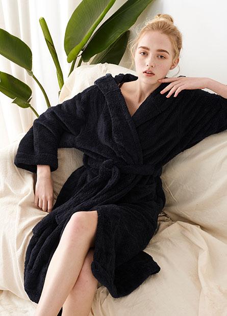 女家居睡袍