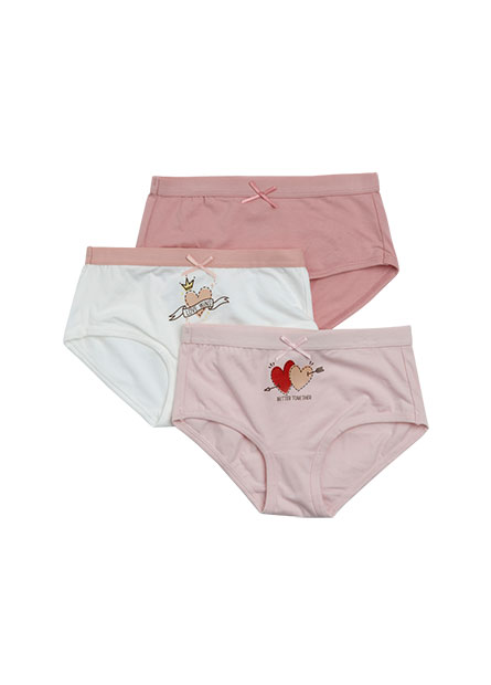 女童內褲三件組