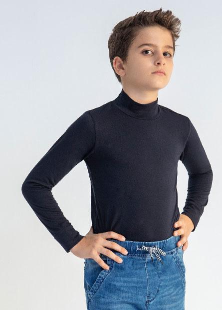童高領發熱衣