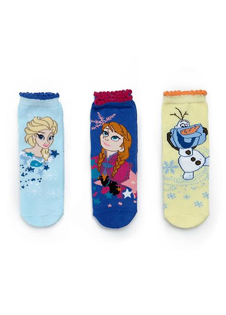 女童冰雪奇緣襪