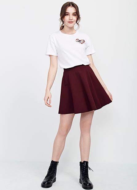 膝上小圓裙