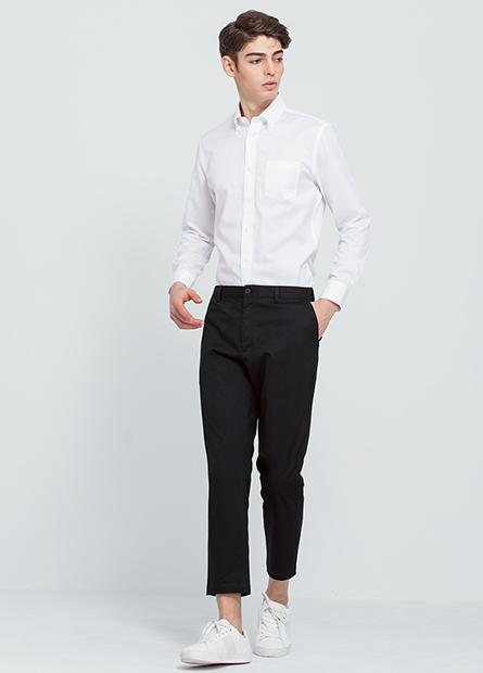 Slim Fit直筒九分褲