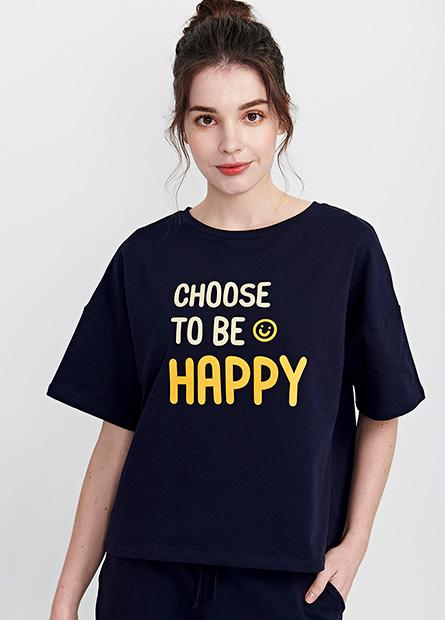 快樂笑臉家居上衣