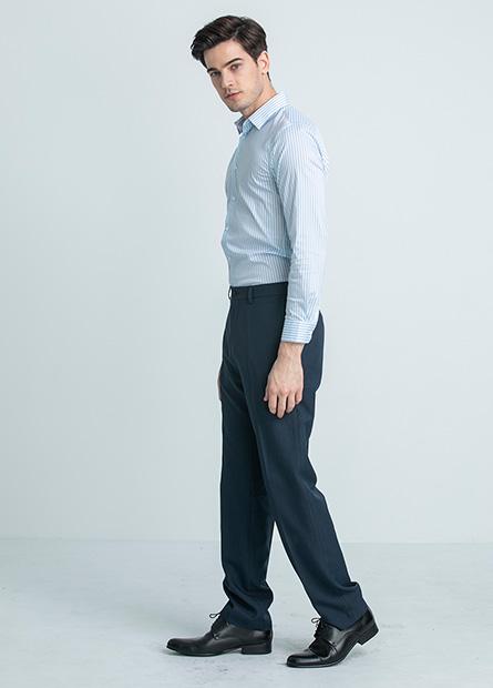 Slim Fit修身直筒西裝褲