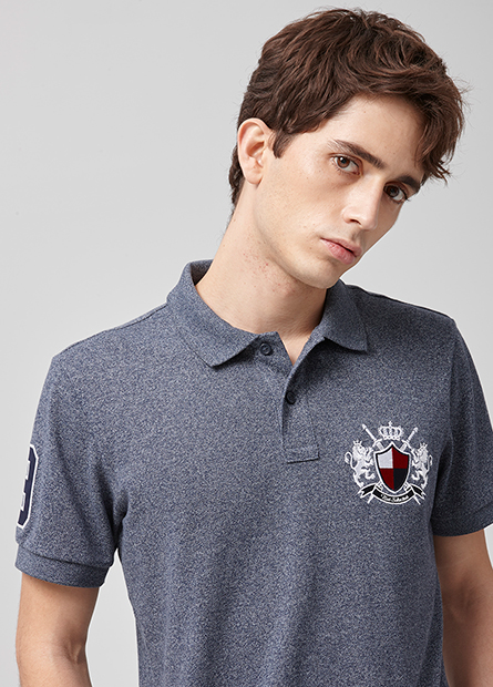 皇家徽章POLO衫