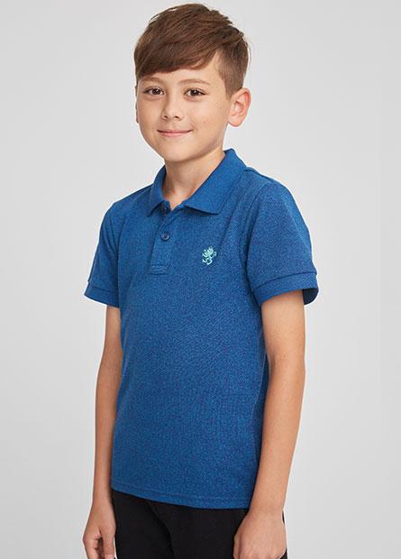 男童繡小獅POLO衫