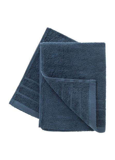 純棉素色毛巾厚款(二入)