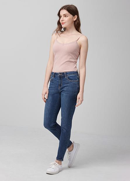 Skinny Fit緊身窄管牛仔褲