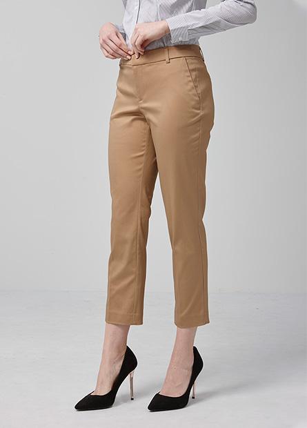 Slim Fit九分直筒西裝褲