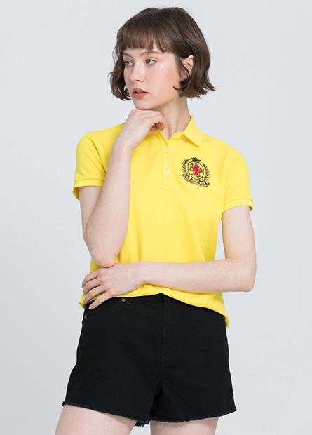 左胸繡章POLO衫