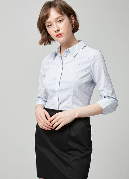 商務七分袖襯衫