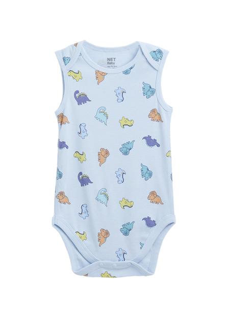嬰兒無袖活動包臀衣