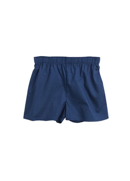 男童純棉印花四角內褲