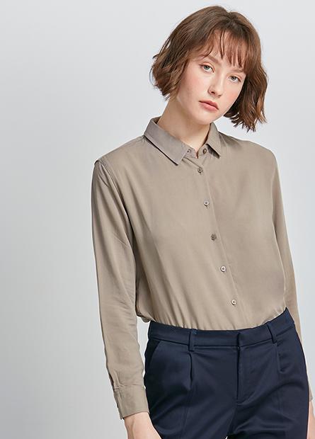 縲縈長袖襯衫