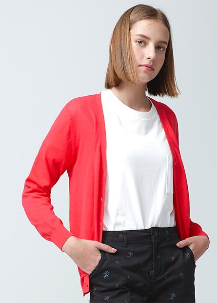 抗UV素色長袖外套