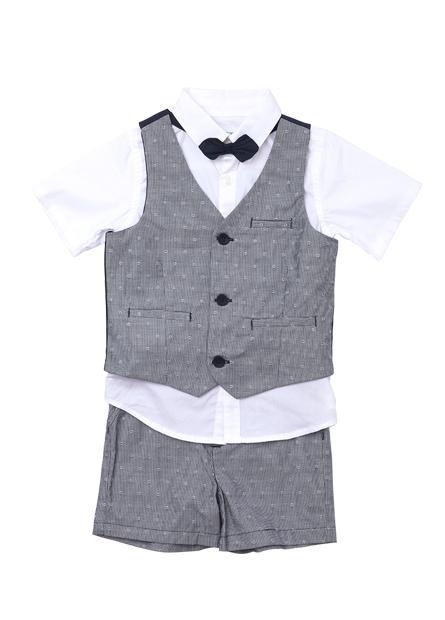 男嬰正式套裝四件組