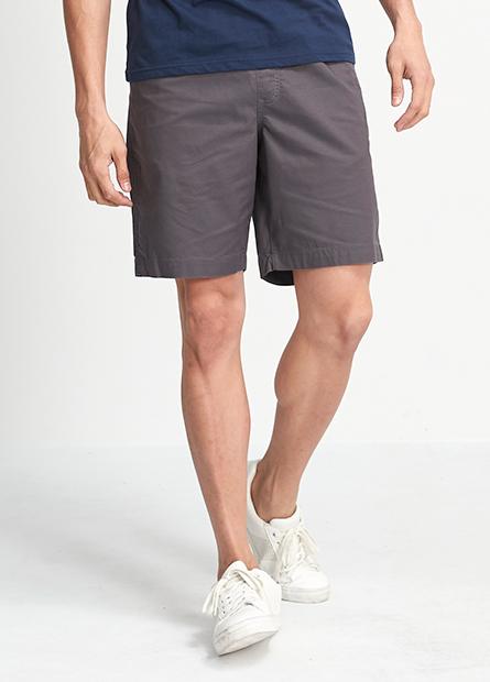 抽繩素色輕便短褲