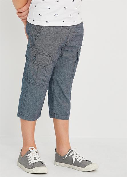 男童CARGO七分褲