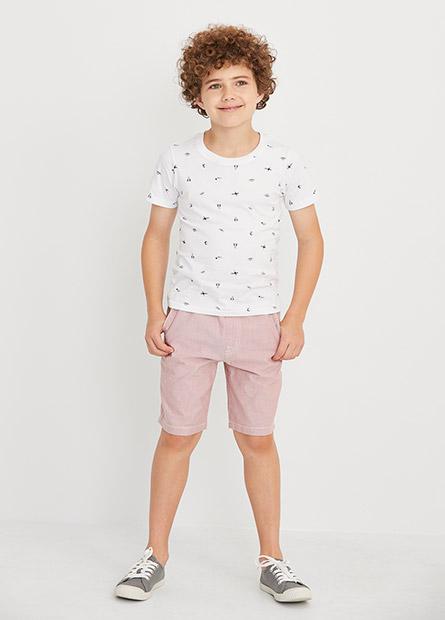 男童多色活力短褲