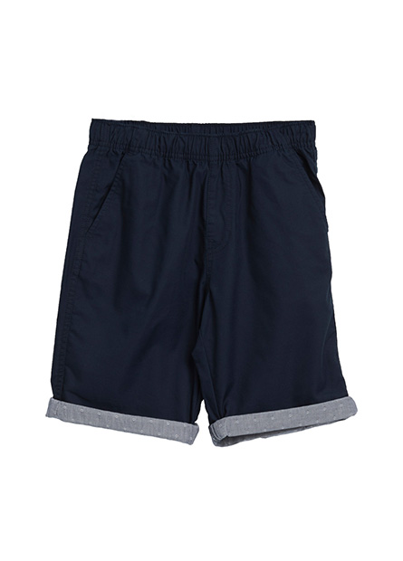 男童多色反褶短褲
