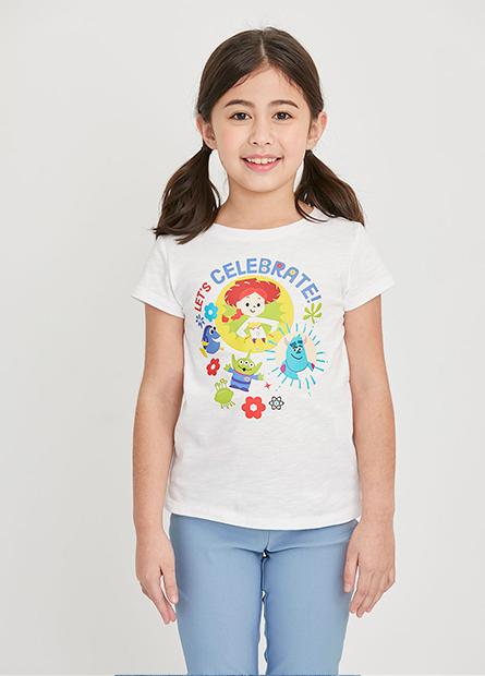 女童玩具總動員印花上衣