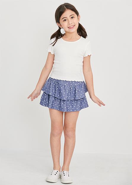 女童蛋糕褲裙