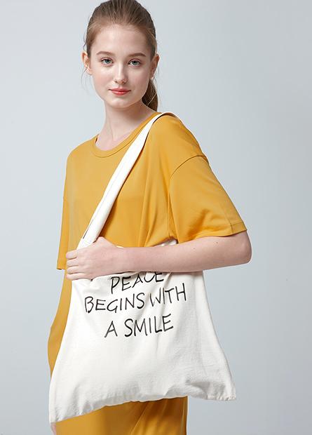 印字水洗雙層購物袋