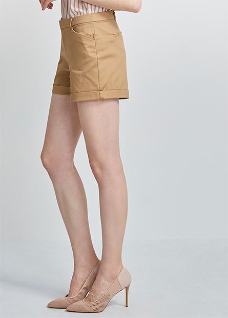 商務反摺短褲