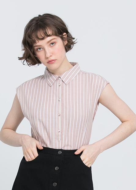 襯衫領背心