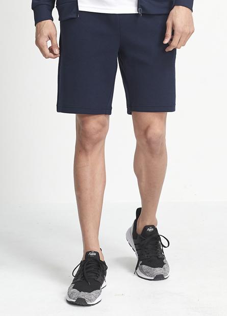 素色棉質短褲