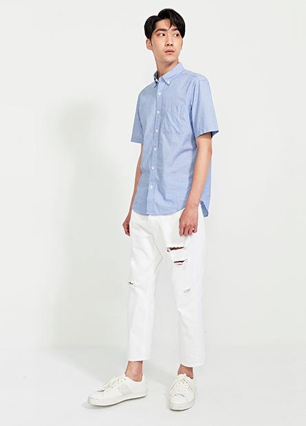 Regular Fit鈕釦領襯衫