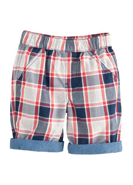 男嬰褲口反摺短褲