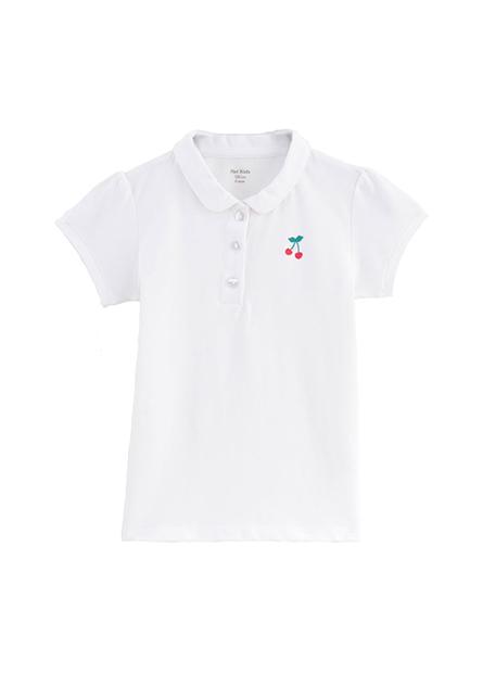 女童櫻桃刺繡POLO衫